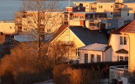 Byggnader i Ulricehamn. Foto: Charbel Sader/Ulricehamns kommun