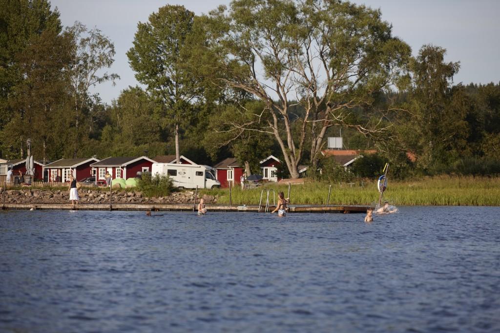 Prångens badplats. Foto: Jan Töve
