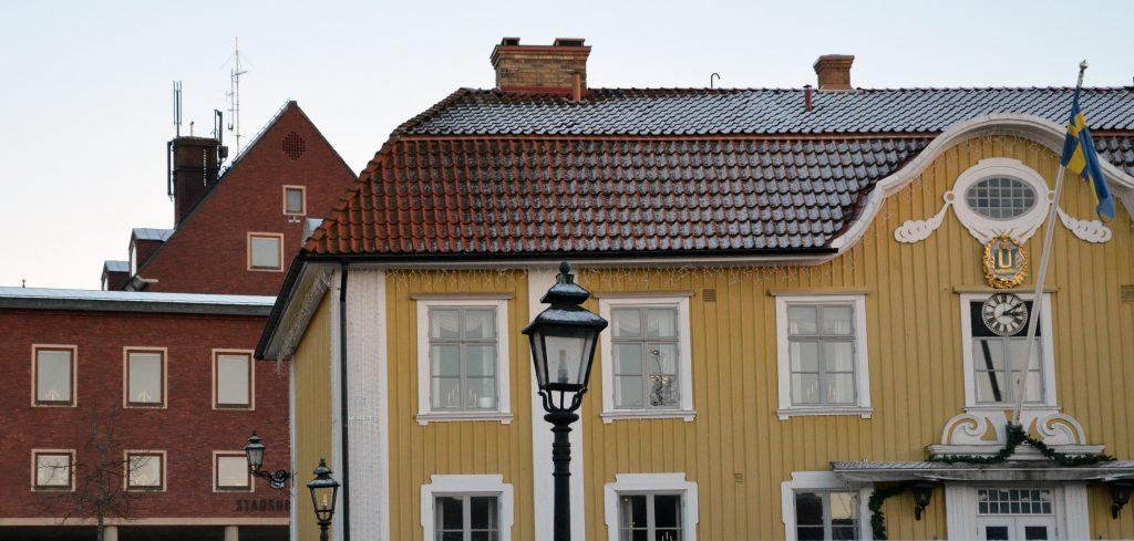 Rådhuset och stadshuset. Foto: Charbel Sader/Ulricehamns kommun