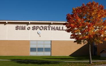 Sim- och sporthallen. Foto: Jan Töve