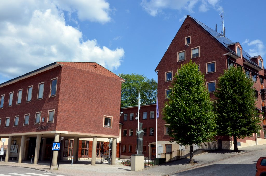 Stadshuset i Ulricehamn. Foto: Niklas Ternstedt/Ulricehamns kommun