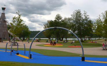 Ulricaparken i Ulricehamn.