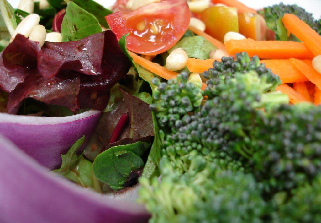 Grönsaker i närbild.
