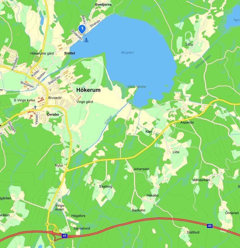 Mogden, karta från eniro.se
