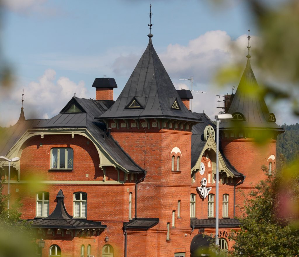 Stationshuset i Ulricehamn.