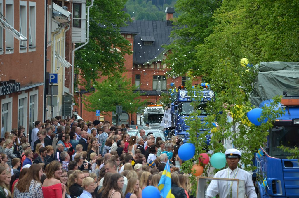 Studenten i Ulricehamn. Foto: Charbel Sader