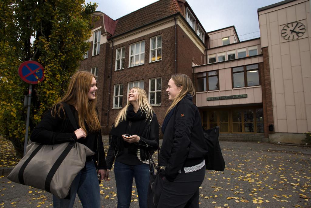 Elever vid Stenbocksskolan. Foto: Sören Håkanlind
