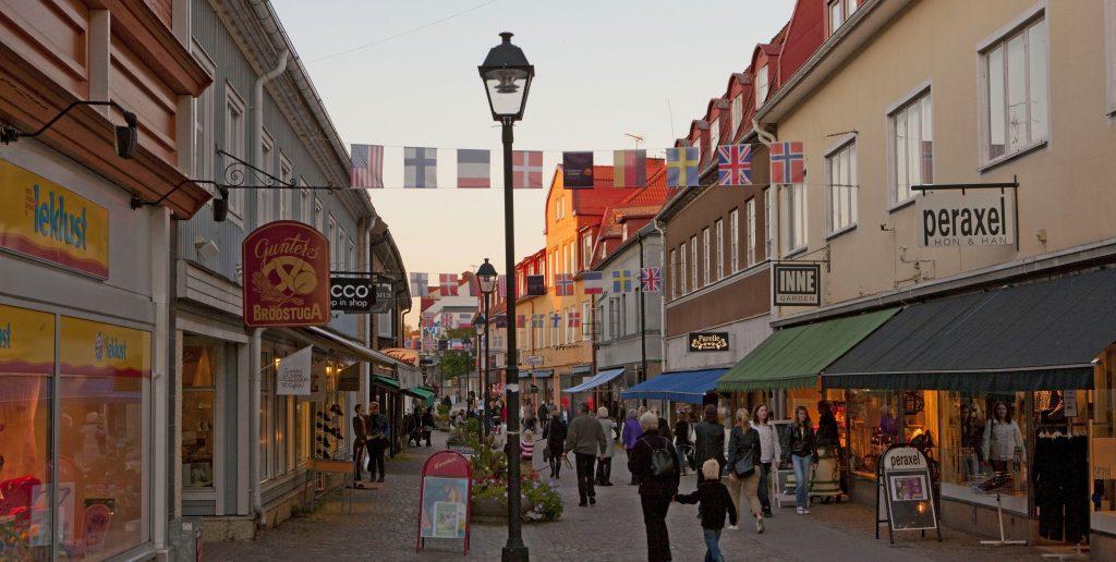 Gågatan i Ulricehamn
