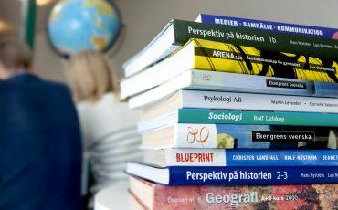 Studentlitteratur. Foto: Anna Sigge