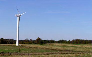 Vindkraft i Älmestad. Foto: Ulricehamns kommun