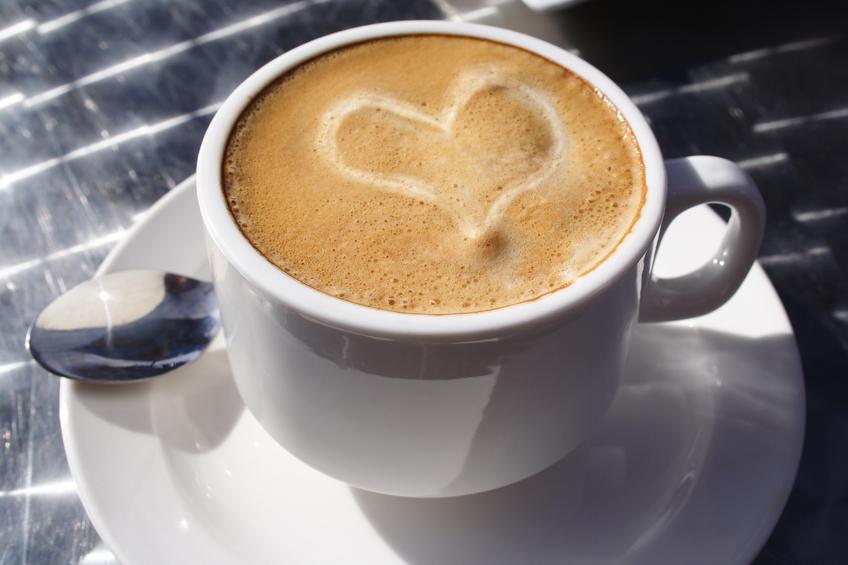 kaffekopp hjärta