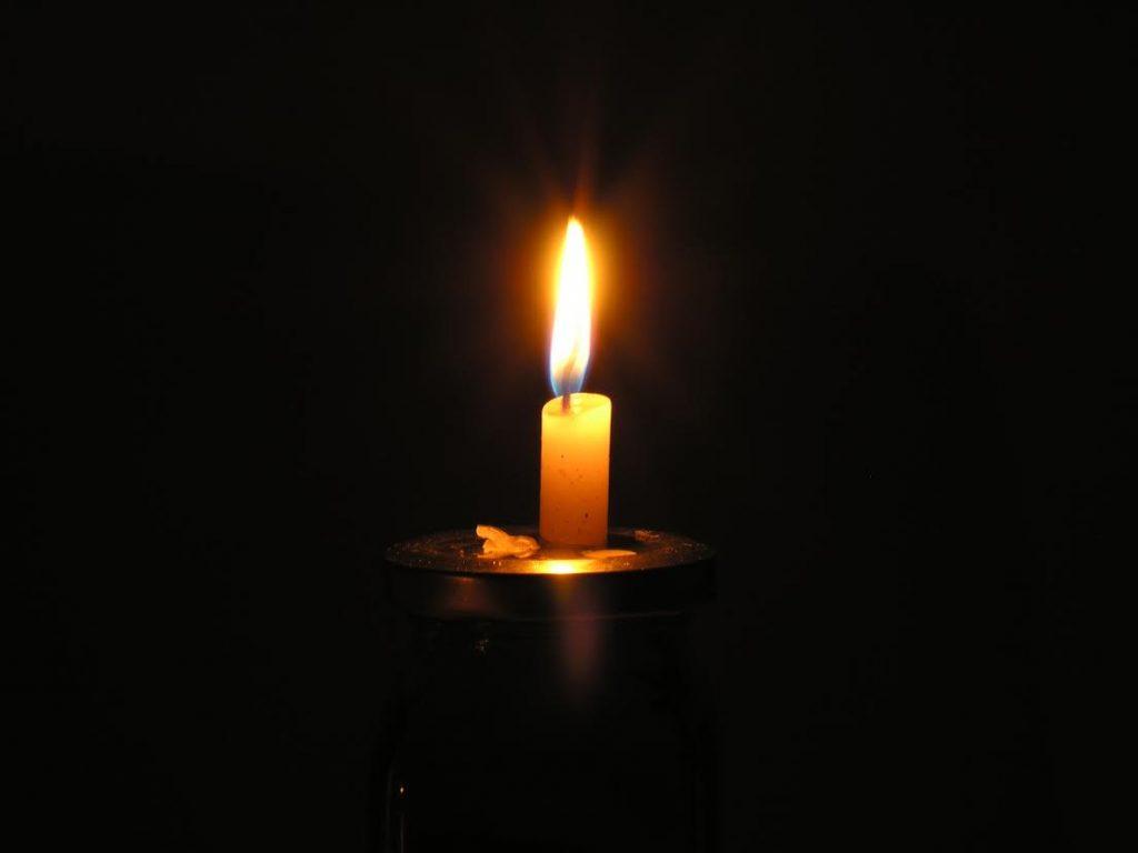Bild på ljus