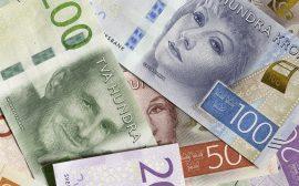 Bild på sedlar