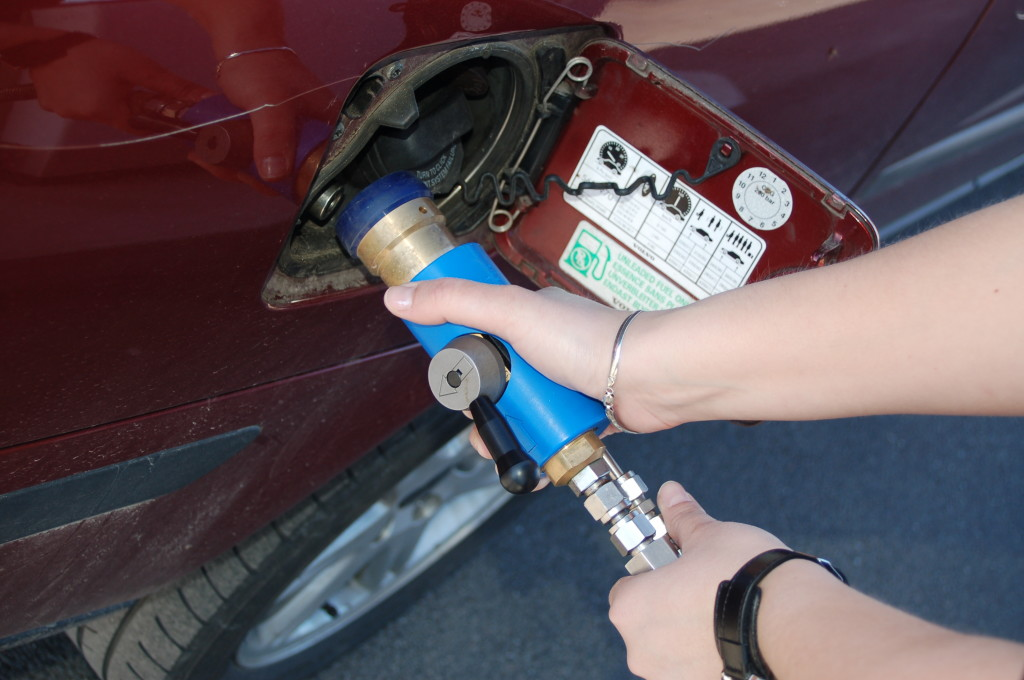 Tankning av biogas