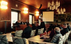 Bild från kommunstyrelsens möte