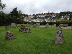Domarringen på Kapellkyrkogården i Villastaden. Foto: Lisa Mårtensson