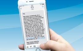 Bild på telefon UEAB