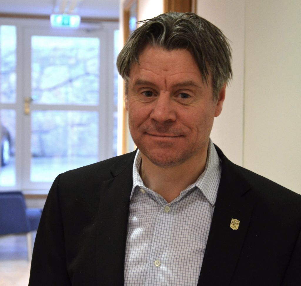 Magnus Andersson, ny socialchef i Ulricehamns kommun