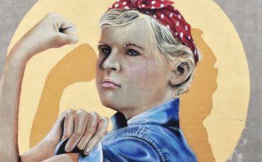 Ada Nilsson, Muralmålning av Shia Dahan 2016.