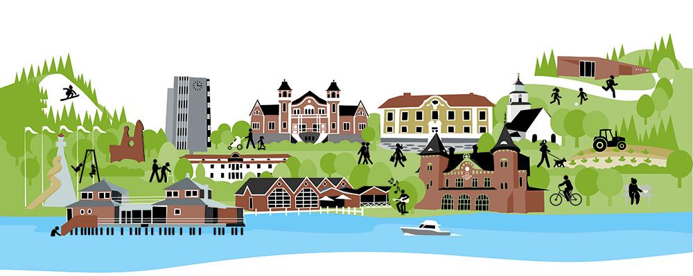 Illustration Ulricehamn