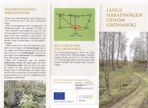 Presentation av häradsvägen broschyr