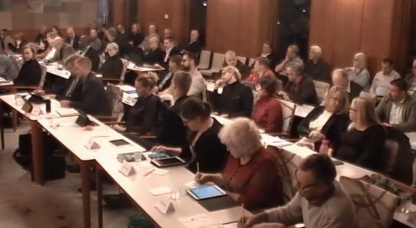 Bild på kommunfullmäktiges församling