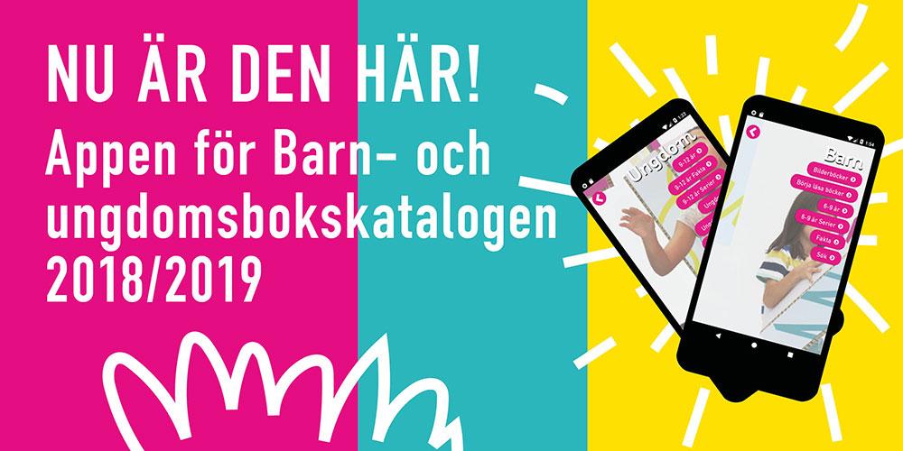 Barn- och ungdomsbokskatalogen 2018/2019 som app