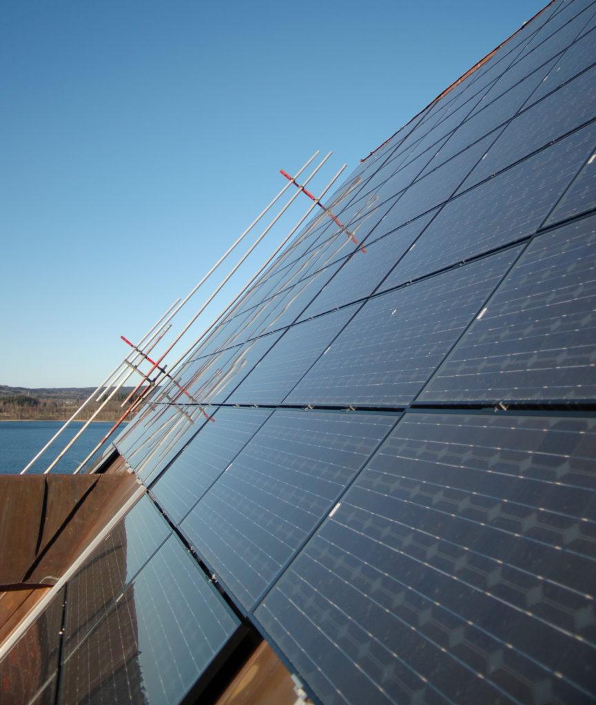 solceller på tak