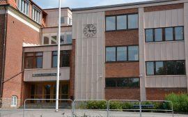 Bild på Stenbocksskolans entré