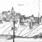 """Bild ur """"Dissertatio de Ulricehamn """" från 1782"""