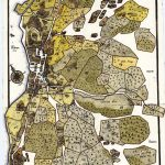 Kettil Classons karta. Detalj.