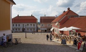 Stora torget i Ulricehamn. Foto: Jan Töve