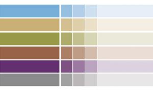 Kommunens profilfärger